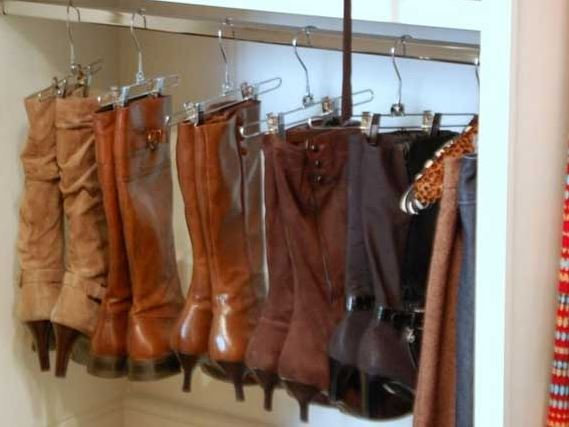 hangers for boots