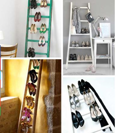 staircase for shoes