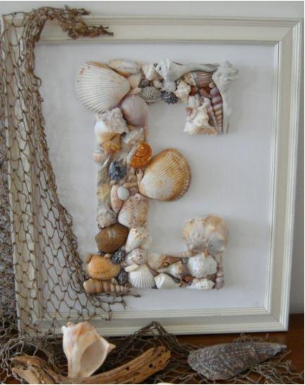 seashell-letters