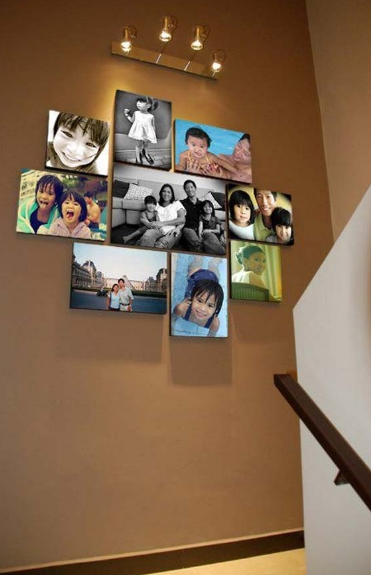 family-picture-display