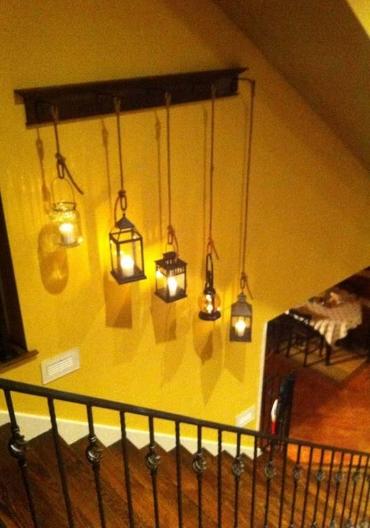 lantern-on-wall