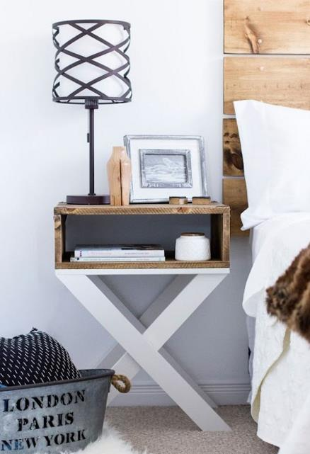 23 diy exypnes for Table de nuit new york