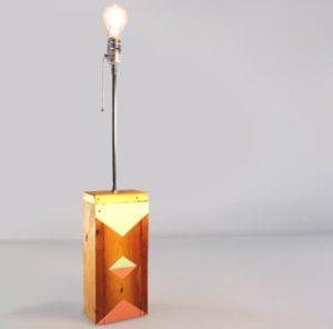 lampa me ksilini vasi