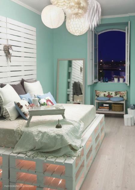 204fb35ac083 20 DIY Κρεβάτια από παλέτες!