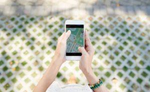 google maps smart phone