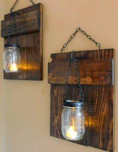lampes kremasmenes apo ksilina kadra