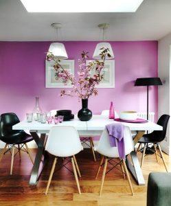 Dining room wall design