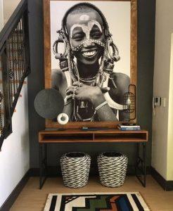 pinakas me afrikano paidaki, diakosmi chol