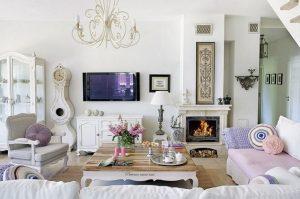 romantiko styl saloniou