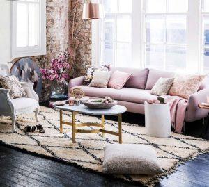 romantiko styl saloni roz
