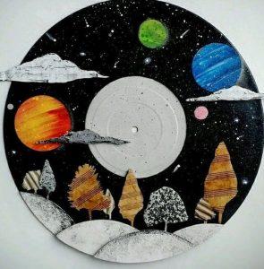 diskos viniliou pinakas zwgrafikis