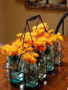 vaza me portokali louloudia