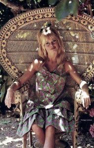 brigitte bardot peacock chair
