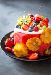 mini karpouzi cake