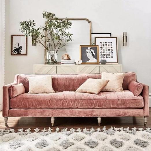 veloute roz kanapes