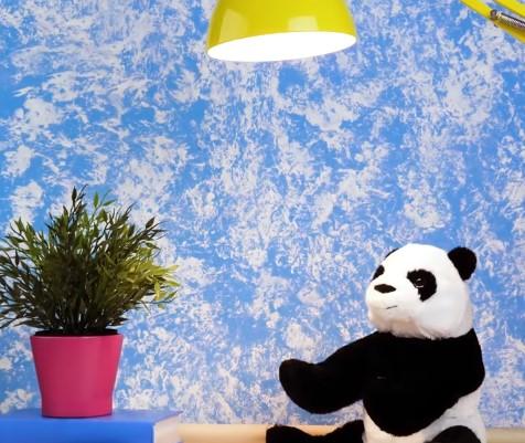 τεχνοτροπίες μπλε παιδικό δωμάτιο