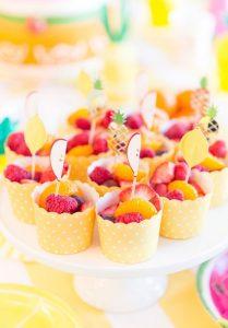 cupcakes me frouta