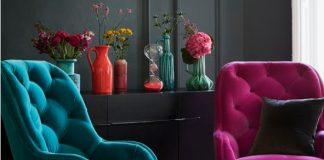 polythrones saloni petrol mov roz