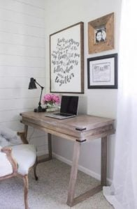 γραφείο για γυναικείο δωμάτιο