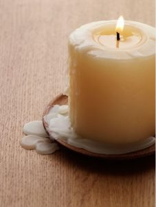 κερί που στάζει