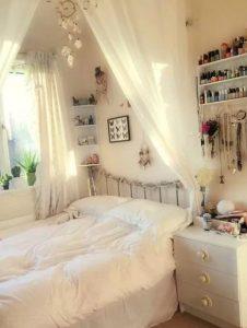 ρομαντικό υπνοδωμάτιο για κορίτσι