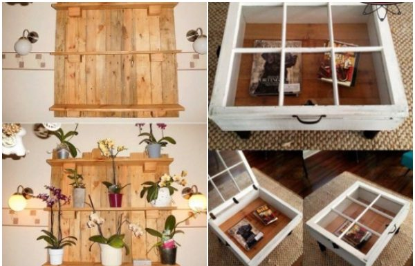 iperoches DIY rustic idees gia to spiti