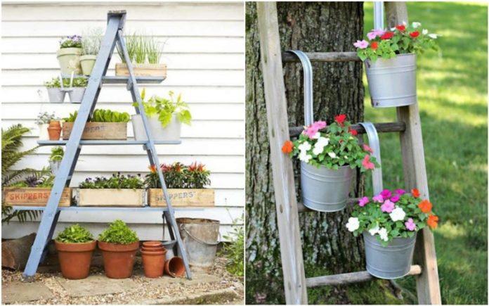 διακοσμητικη σκαλα για κηπο