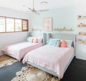 παστελ χρώματα δωμάτιο