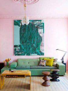 ιδέες για παστέλ σαλόνι