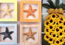 όμορφες ιδέες για καλοκαιρινή διακόσμηση στο σπίτι