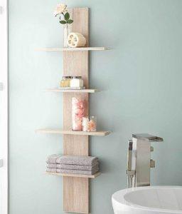 ξύλινη στήλη για μπάνιο