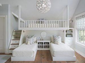 μίνιμαλ λευκό δωμάτιο