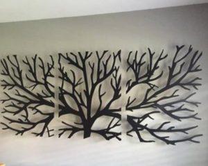 μεταλλικό διακοσμητικό για τον τοίχο