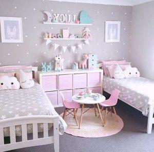 λιλα δωμάτιο για κορίτσια