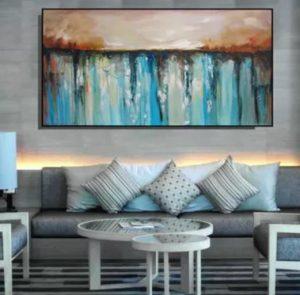 πίνακας για το σαλόνι
