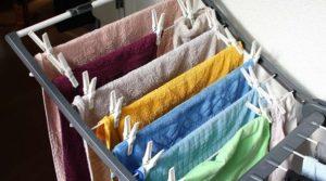 απλωμένες πετσέτες