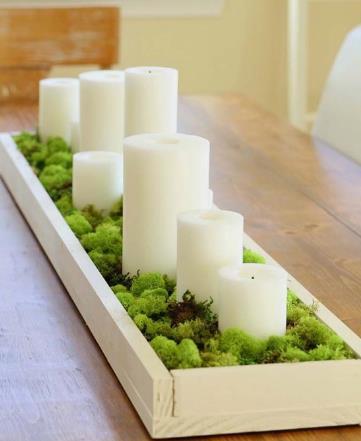 διακοσμητικά αρωματικά κεριά