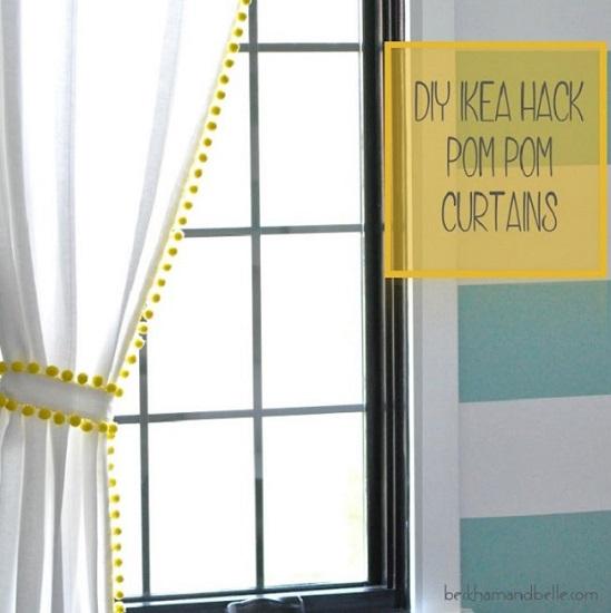 ιδέες διακόσμησης κουρτίνες υπνοδωματίου