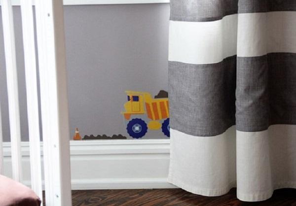 κουρτίνες παιδικά δωμάτια ιδέες