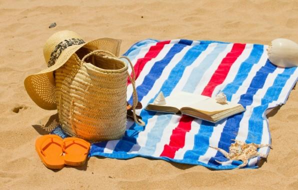 πετσέτα στην άμμο