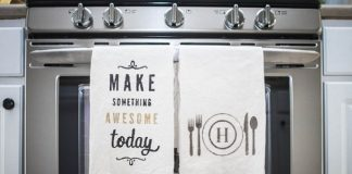 διακοσμητικές πετσέτες κουζίνας