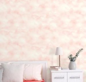 ταπετσαρία υπνοδωματίου με συννεφάκια ιδανική για το υπνοδωμάτιο