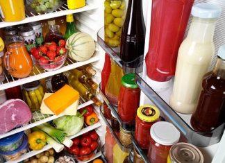 τιγκαρισμένο ψυγείο