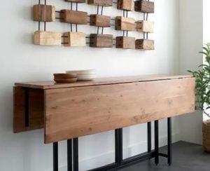 τραπέζι μπαρ για διαμέρισμα χωρίς πολύ χώρο