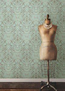 εντυπωσιακή vintage ταπετσαρία