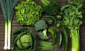 αντιοξειδωτικές τροφές πράσινα λαχανικά