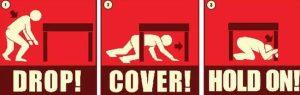 προστασία κατά τη διάρκεια σεισμού