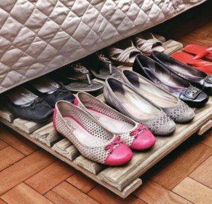 κατασκευή για παπούτσια