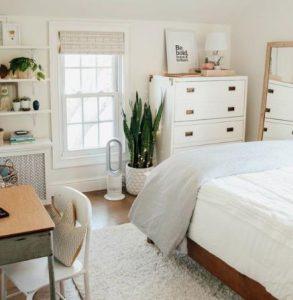 διακόσμηση για μικρό υπνοδωμάτιο διαμερίσματος