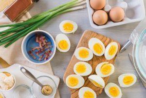 διατροφή πρωτεΐνη αυγά